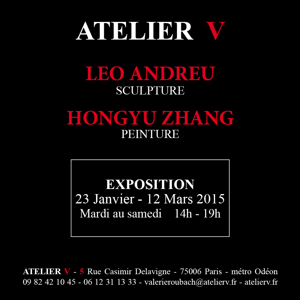 Exposition Léo et Hongyu